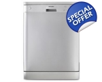 MONTPELLIER FULL SIZE A+ DISHWASHER SILVER