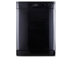 MONTPELLIER FULL SIZE A+ DISHWASHER BLACK
