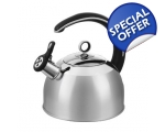 MORPHY RICHARDS 2.5LT MULTI HOB KETTLE STAINLESS..