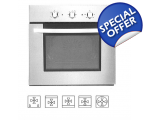 ATLAN BUILT IN ELECTRIC OVEN WHITE