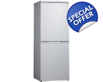 OTTO FROST FREE FRIDGE FREEZER STAINLESS STEEL H..