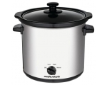 MORPHY RICHARDS 3.5LT ROUND SLOW COOKER STAINLES..