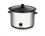 MORPHY RICHARDS 5.5LT ROUND SLOW COOKER STAINLES..
