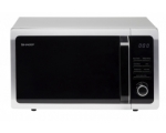 SHARP 25LT 900W MICROWAVE SILVER