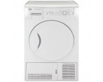 BEKO 8KG B  CONDENSER TUMBLE DRYER WHITE