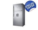 SAMSUNG FROST FREE TOP MOUNT FRIDGE FREEZER WITH..
