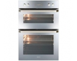 BEKO BUILT IN DOUBLE ELECTRIC FAN OVEN STAINLESS..