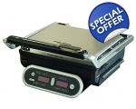 MORPHY RICHARDS INTELLI GRILL STAINLESS STEEL