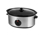 SWAN 6.5LT SLOW COOKER BRUSHED STAINLESS STEEL