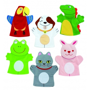 Pets hand puppets