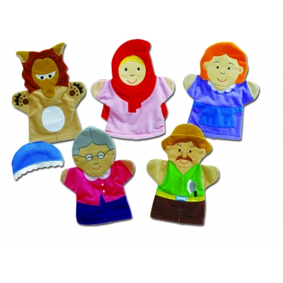 Red Riding Hood hand puppet set