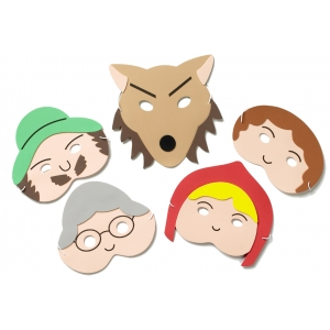 Red Riding Hood mask set