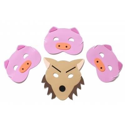 Three Pigs Mask Set