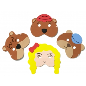 Goldilcoks & the 3 Bears mas..