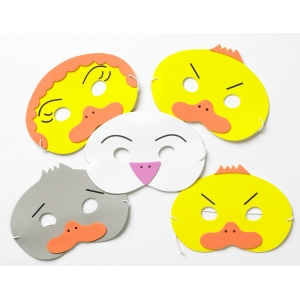The Ugly Duckling Mask Set