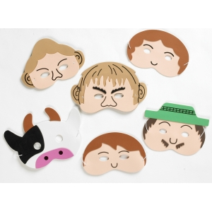 Jack & the beanstalk mask set