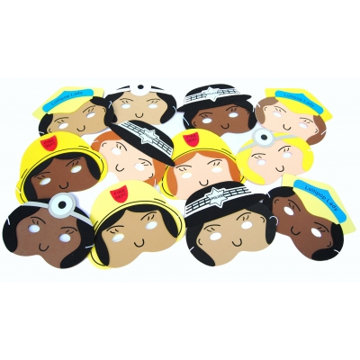 Careers Mask set - girls  12pcs