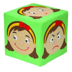 Emotions Cube - Girl