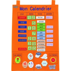 Mon Calendrier - French Todays Chart