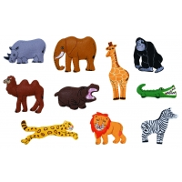 Wild Animals Motifs -set 1