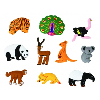 Wild Animals Motifs - set 2