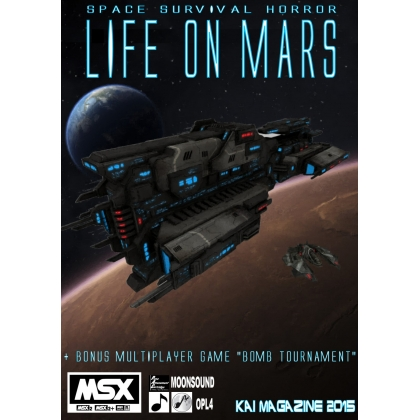 Life on Mars CARTRIDGE VERSION Metroidvania game 2016