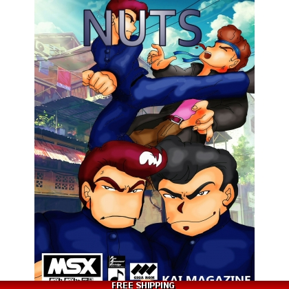 Nuts DIGITAL VERSION Beat'em up 2 players game 1998