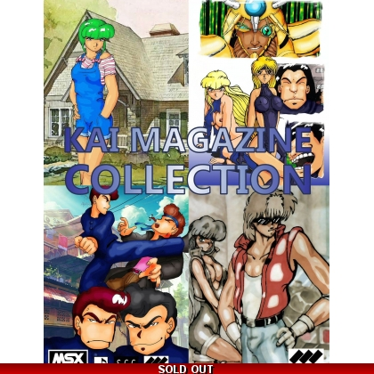 Kai Magazine Collection 1 includes Lilo, No Name, Nuts, and System Saver Demo 2014