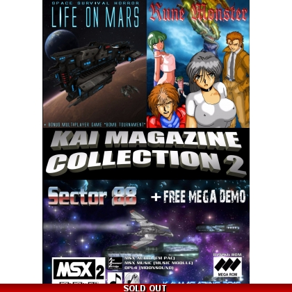 Kai Magazine Collection 2 includes Life on Mars, Rune Monster, Sector 88 and a Mega demo 2016