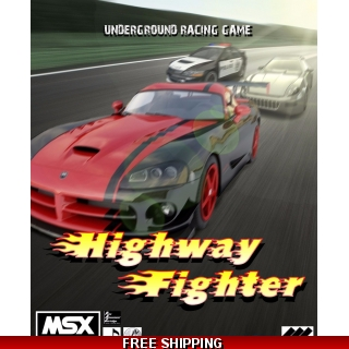 Highway Fighter DIGITAL VERSION MSX2 a..