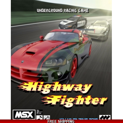Highway Fighter DIGITAL VERSION MSX2 and 2+ 2017 COPY