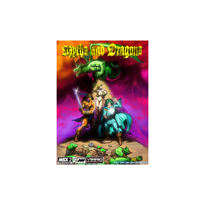 Myths and Dragons V9990 chip requiered CARTRIDGE