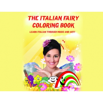 THE ITALIAN FAIRY® COLORING BOOK + MUSIC CD