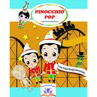 PINOCCHIO POP BOOK + MUSIC CD