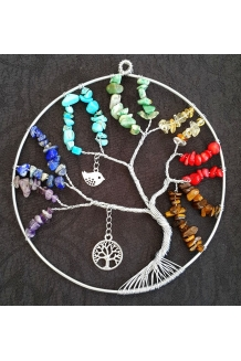 Tree of Life Suncatcher Chakra