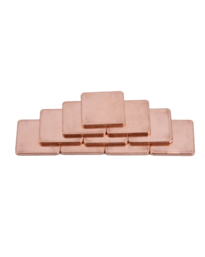 Copper Square Blanks