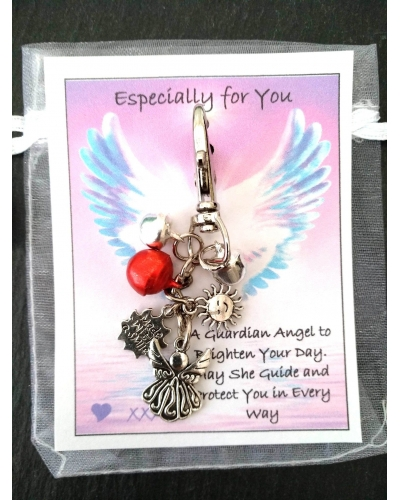 💖 Angel Handbag Purse Keys Theft Pickpocket Holiday Twin Security Gift 💖