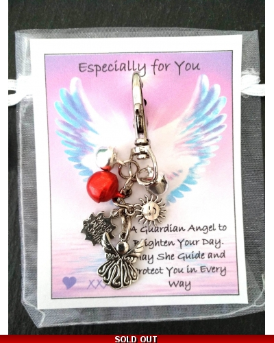 💖 Angel Handbag Purse Keys Theft Pickpocket Holiday Twin Security Gift 💖 COPY