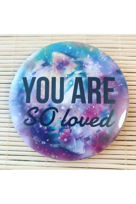 You are so loved - pocket mirror. Vegan friendly gift. Vegan gift. Mother's Da..