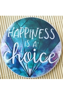 Fridge magnet - Happine..
