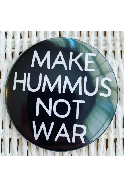 Make hummus not war. - vegan fridge magnet. Vegan home. Vegan fridge. Vegan ki..