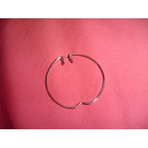 Downlight retaining ring for gu10 lamp