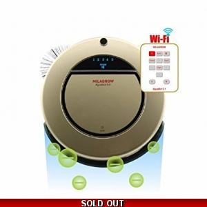 Aguabot5 Wi-Fi+Anion - 1st Full Wet Mopping & Dry Cleaning Floor Robot