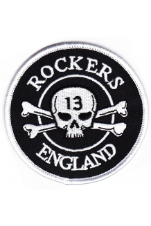 Rockers England Original Logo Embroidered Patch ..