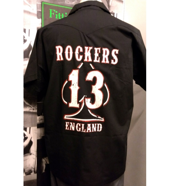Rockers England Big 13 Workshirt UK P&P Included