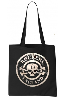 Rockers England Tote Bag Distressed Logo Design ..