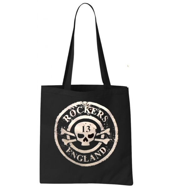 Rockers England Tote Bag Distressed Logo Design UK P&P Included