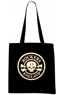 Rockers England Tote Bag - Original Logo - UK P&..