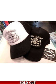 Rockers England, Trucker Caps, Black or White UK..