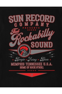 T-Shirt. Sun Records, Rockabilly Sound from Steady. UK P&P Included